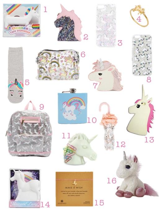 a basso prezzo 31389 a63e2 16 accessori con unicorni da acquistare