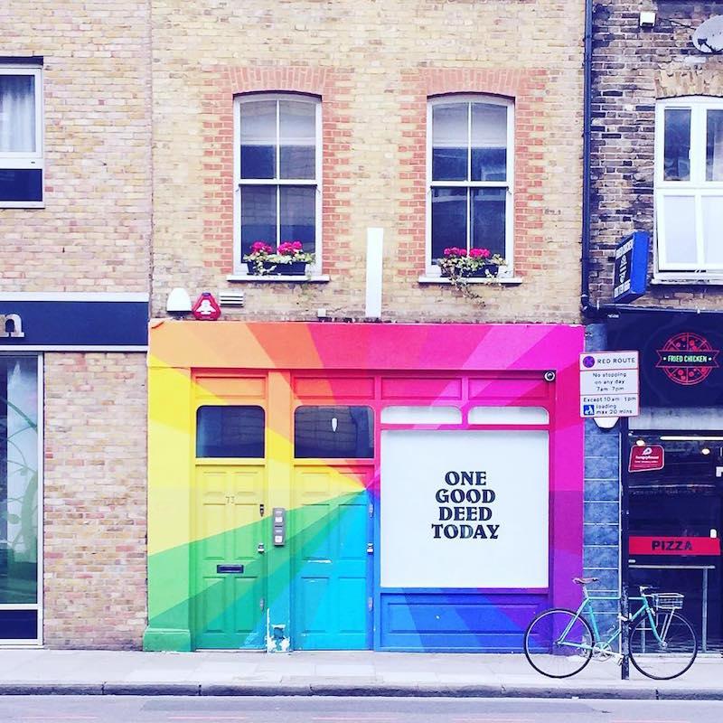 instagram come la guida turistica di Londra