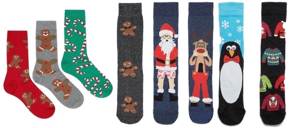 calzini natalizi di Asos