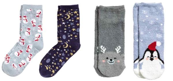 calzini natalizi di HM