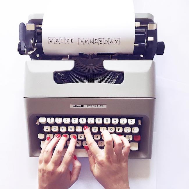 perche e importante scrivere tutti i giorni per un web writer di valinapostit