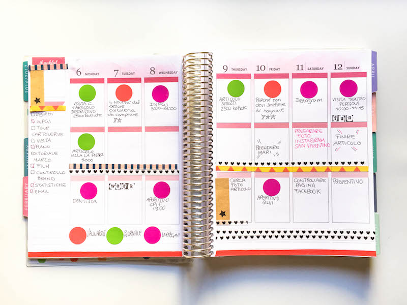 decorare agenda con Tiger