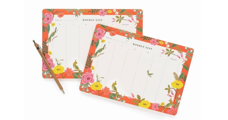 planner di Rifle Paper CO