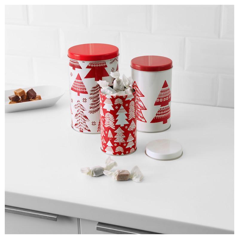 contenitori Natale Ikea