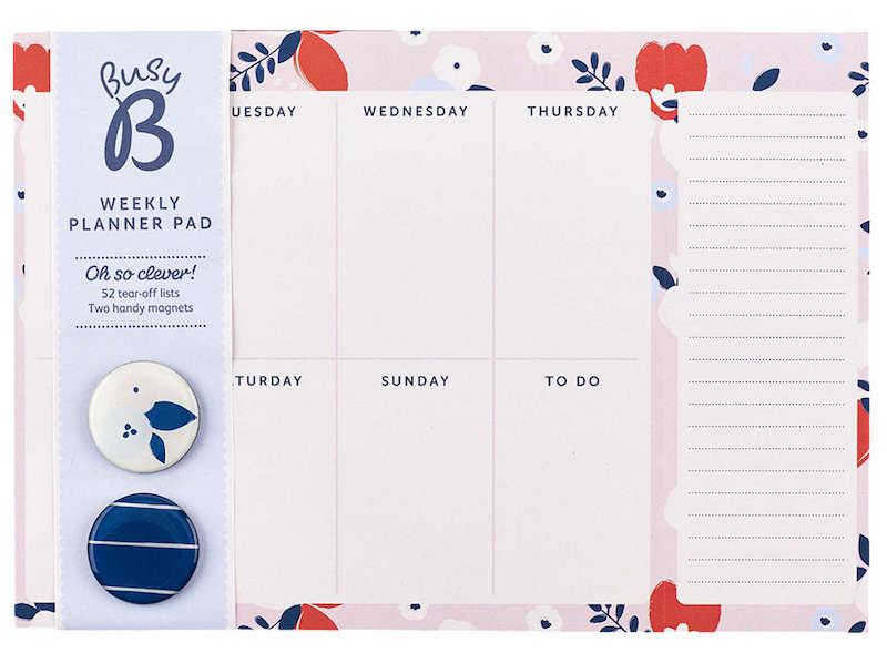 planner settimanale Busy B