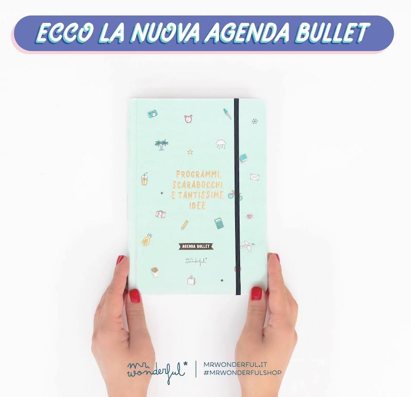 agenda bullet mr. wonderful