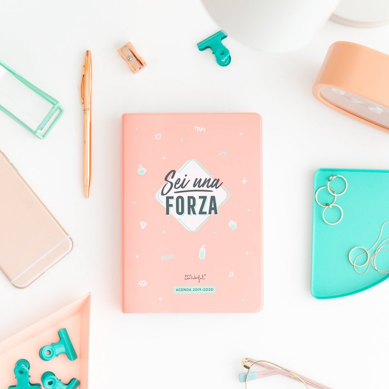 agenda piccola mr. wonderful