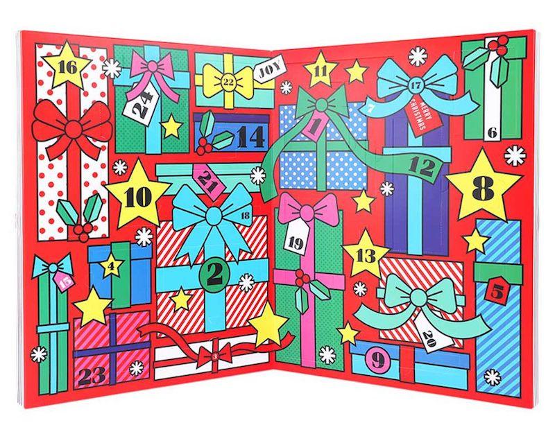 calendario avvento cartoleria-paperchase