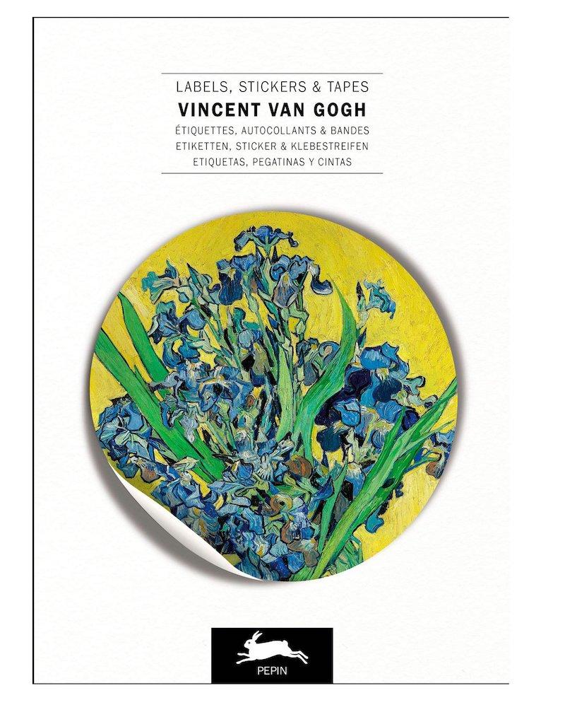 sticker book van gogh