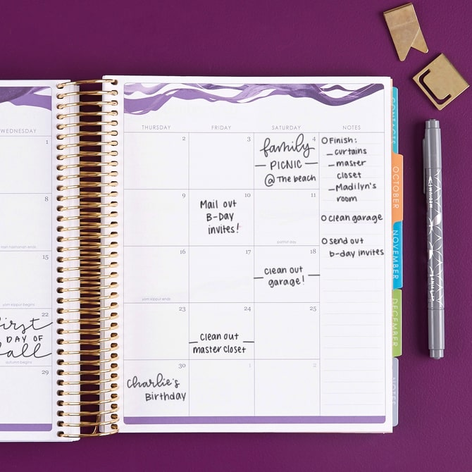 Erin Condren LifePlanner agenda 2021 interno 3